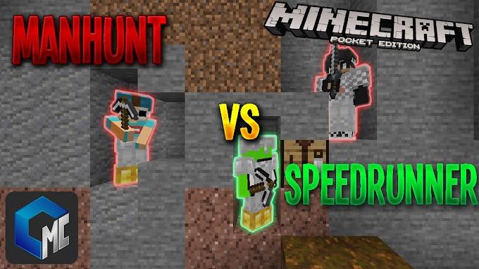 2 Manhunt VS Speedrunner (Mapa/Survival)