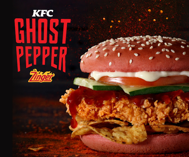 Berhantu Ke KFC Ghost Pepper Ni?