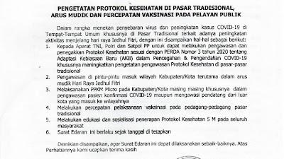 Disepakati, Shalat Idul Fitri 1442 H di Lampung Dirumah Saja
