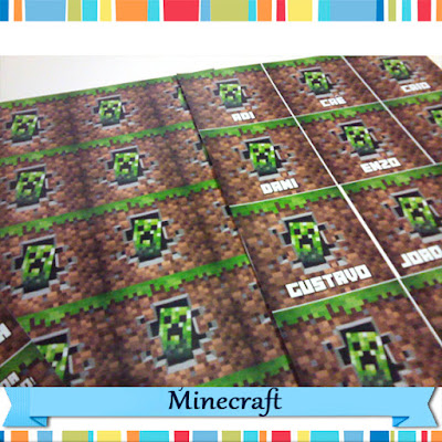 Adesivos Minecraft