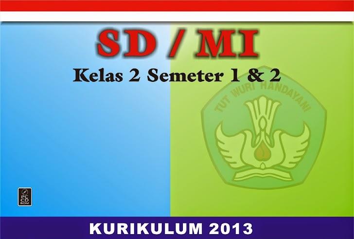 RPP SD/MI  KELAS II SEMESTER 1 DAN 2