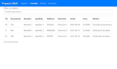 Consultar registros en PHP y MySQL