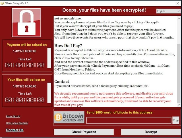 "5 Tips Elak Serangan ""Wanna Cry Ransomware"" Virus"