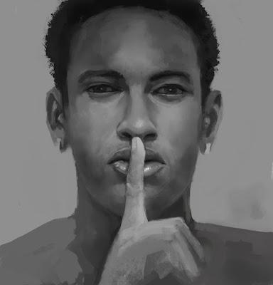 Portrait study   Neymar