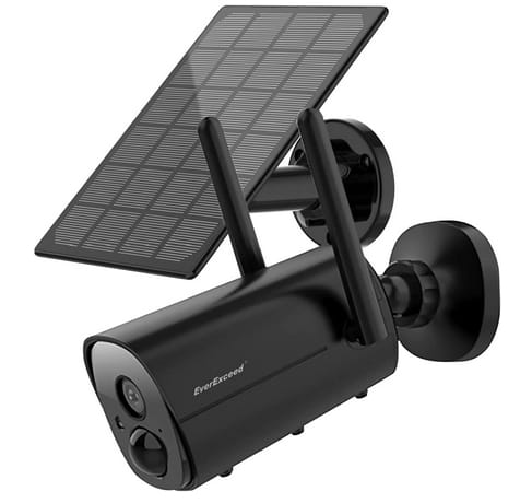 EverExceed Solar WiFi Security Camera with Night Vision