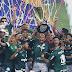 Taça do Paulistão faz tour pela loja oficial do Palmeiras em Jundiaí na quinta-feira