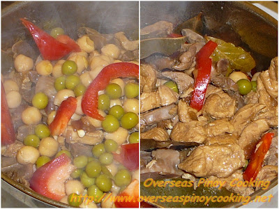 Chicken Igado - Cooking Procedure