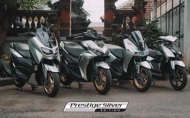 Prestige Silver warna baru yamaha 2021