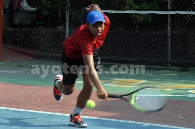 Tumbangkan Unggulan Pertama, Tegar Abdi/Alfurqon Melaju ke Semifinal