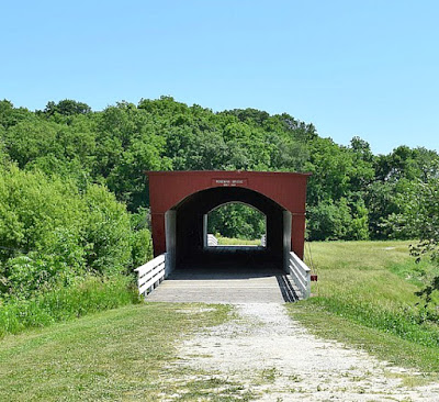 Roseman Covered Bridge in Madison County, Iowa