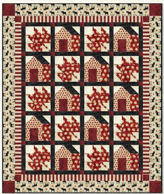Quilt Inspiration: Free Pattern Day: Canadian Flag : canadian flag quilt - Adamdwight.com