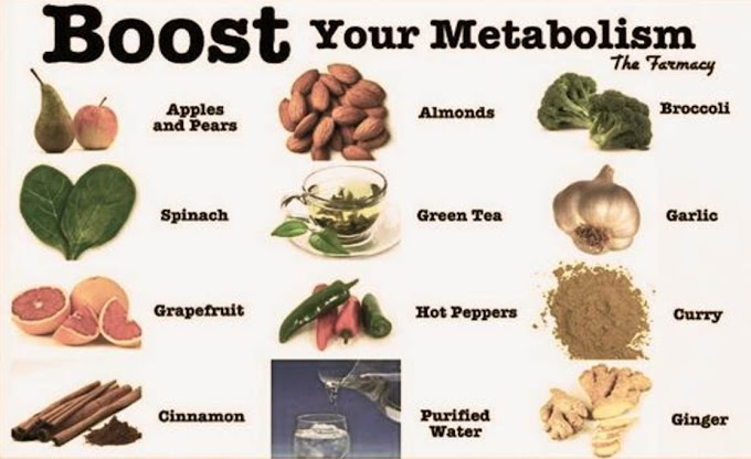 Speed Up Metabolism with these Foods to Reduce Weight