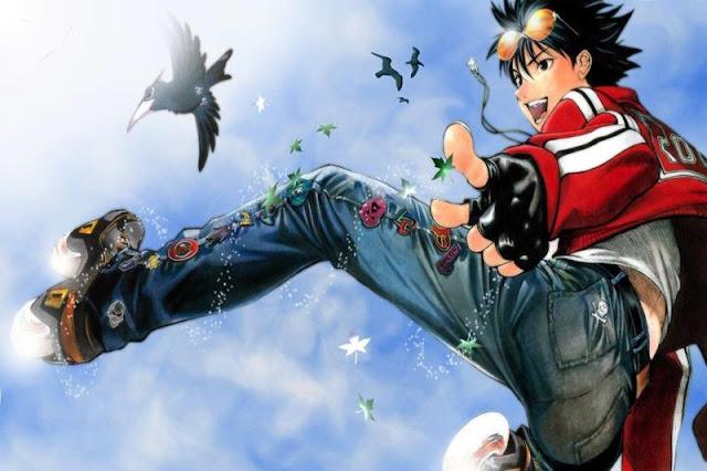Itsuki dari Air Gear sangat mirip dengan Natsu dari Fairy tail