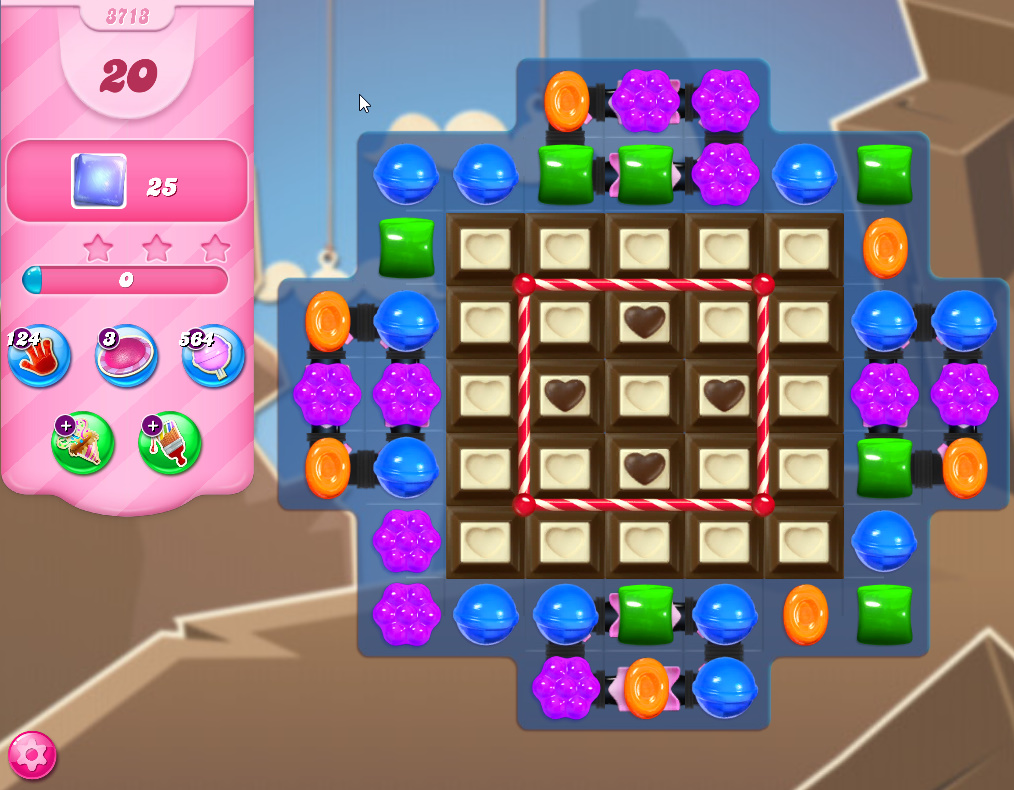 Candy Crush Saga level 3713
