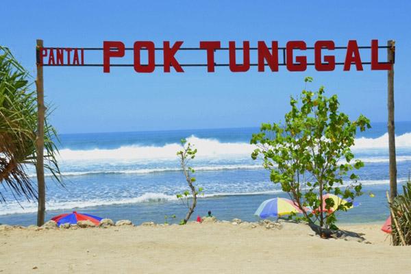Pantai Pok Tunggal | wisata jogja | wonderful Indonesia