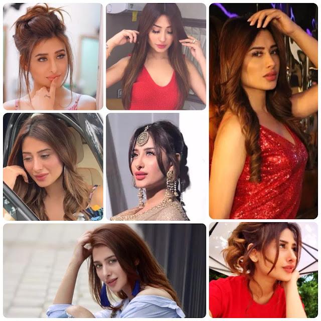 Mahira Sharma Hairstyles