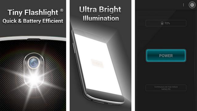 أفضل 10 تطبيقات مصباح يدوي Flashlight للاندرويد