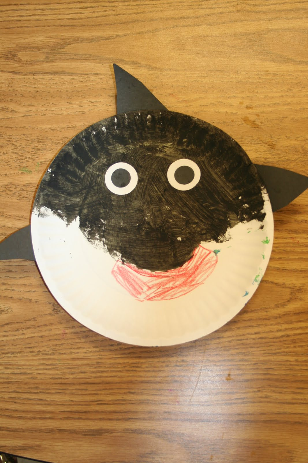 Killer Whale Paper Plate Craft
