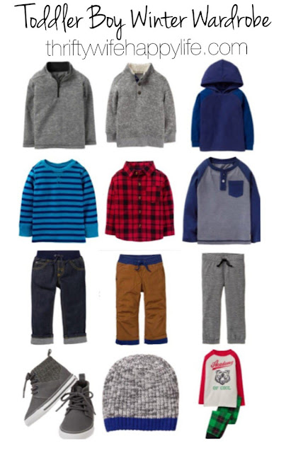 Thrifty Wife, Happy Life- #ShineYourWay into the holiday season.  Toddler boy winter wardrobe