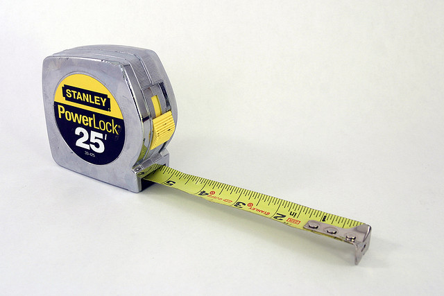 78 On Tape Measure: Separated By A Common Language: Tape Measure / Measuring Tape