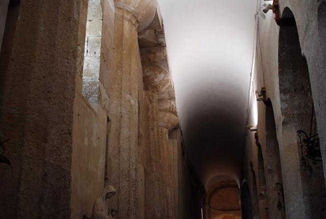 La cathédrale de Syracuse a été construite sur un temple grec