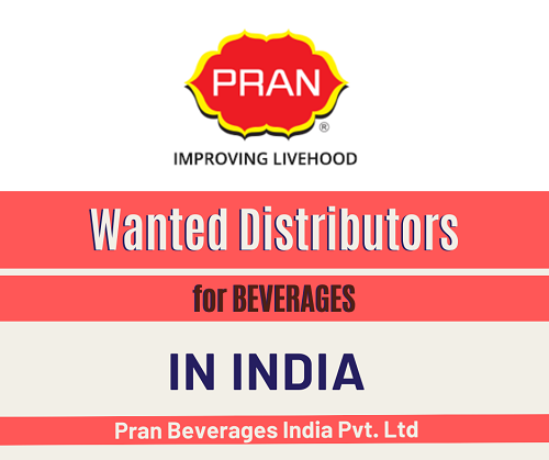 Wanted Distributors for Beverages in India