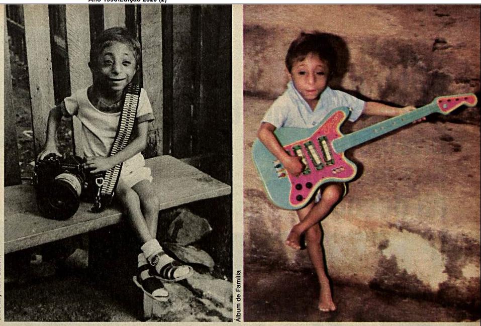 Vitrine Capixaba: 1996. Rafael Pereira dos Santos, de Colatina, foi  destaque na Imprensa por ter doença rara, SECKEL. Manchete. RJ Biblioteca  Nacional
