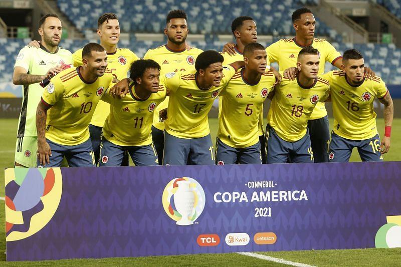 موعد مباراة كولومبيا وفنزويلا