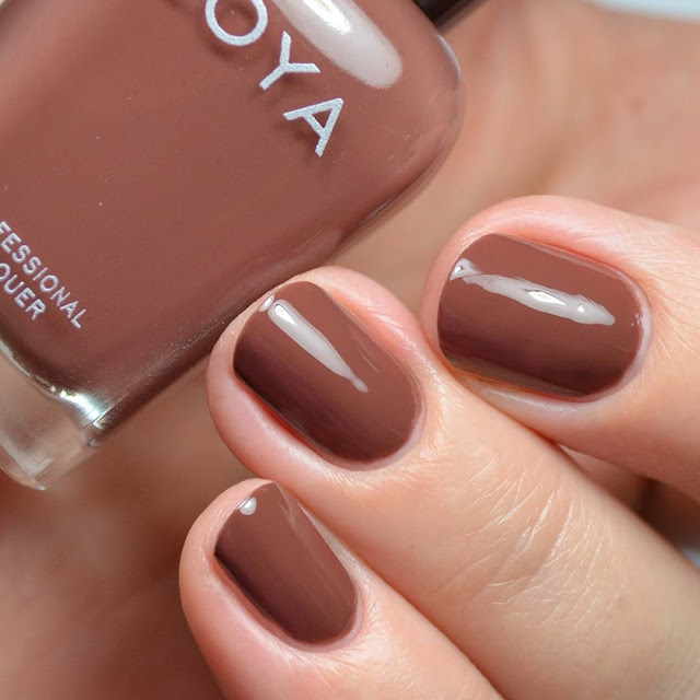 hot chocolate creme nail polish