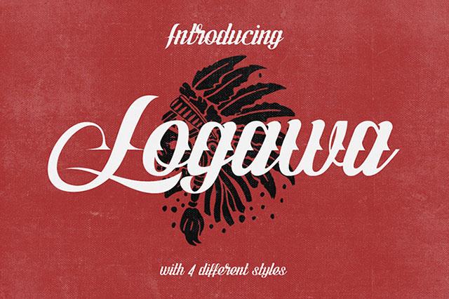 Logawa_Free_Font