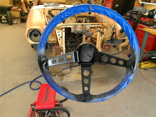 ford pinto steering wheel finished