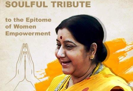 See what Celebrities said about Sushma Swaraj