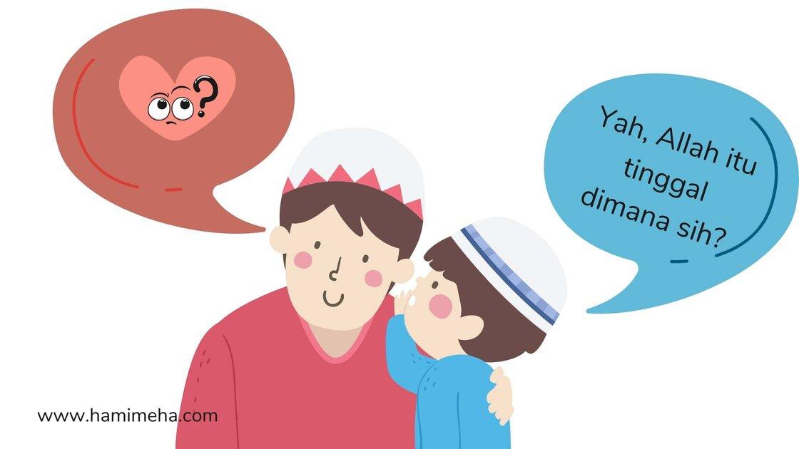 Pertanyaan anak seputar keimanan