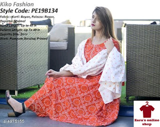 Rayon Kurta Set, size 38to 44 available, free shipping, COD free, return policy available,