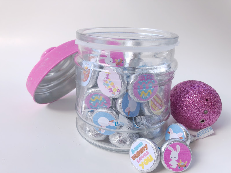 Quick easy and awesome easter gift everyday parties these free kiss printables are perfect for a teacher easter gift a co worker negle Images