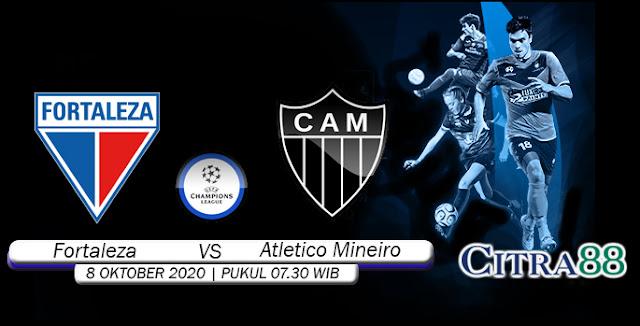 Prediksi Bola Fortaleza vs Atletico Mineiro 08 Oktober 2020