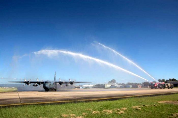 C-130H Hercules A-1334 TNI