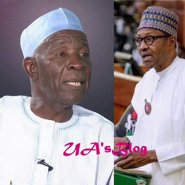 VIDEO: Buba Galadima Speaks On 'Jubril From Sudan', Says 'The Man In Aso Rock Is Not Buhari'