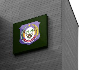 desain papan nama logo provinsi gorontalo - kanalmu