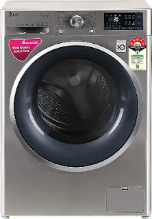 LG 9 Kg Inverter Wi-Fi Fully Automatic Front Load Washing Machine (FHT1409ZWL)