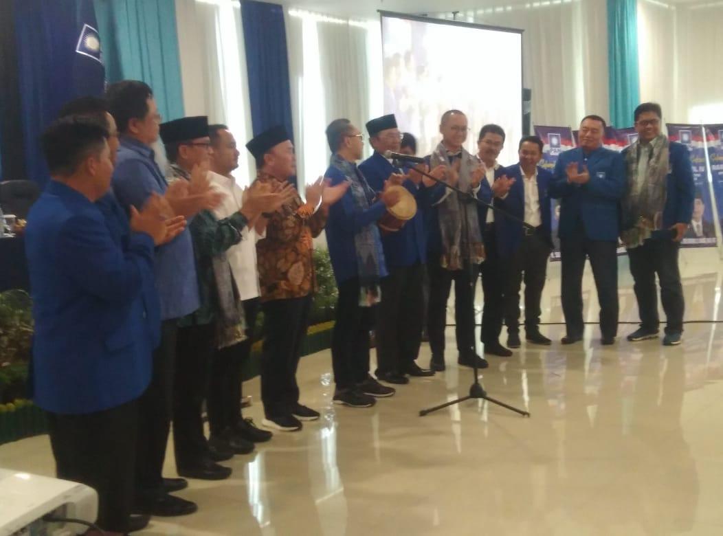 Pembukaan Rakerwil DPW PAN Kalteng Ke IV Dihadiri Sejumlah Tokoh