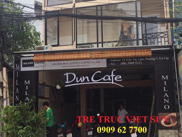 mành tre đẹp nhất cho quán cafe