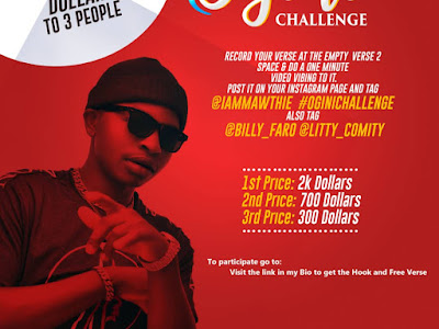 Stand a chance to win $2000 at the ongoing #OginiChallenge (Read More)