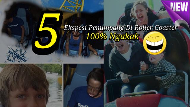 Penumpang Roller Coaster