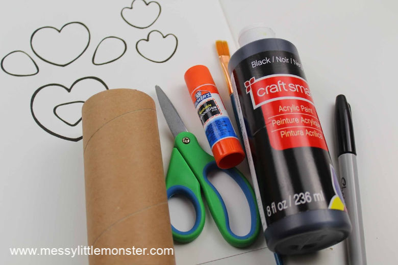 penguin craft for preschoolers with template