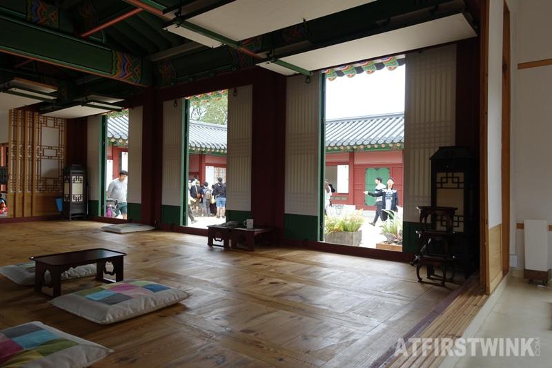 Saenggwabang in Gyeongbokgung palace wooden floor