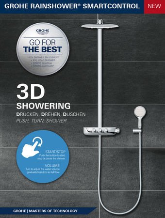 mybath grohe smartcontrol promotion. Black Bedroom Furniture Sets. Home Design Ideas