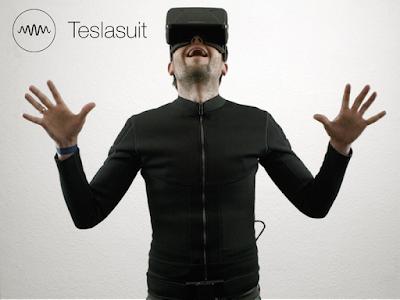 Merasakan dengan Tesla Suit