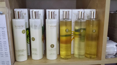 Neom Luxury Organics products in PureSource Barbados www.modenmakeup.com