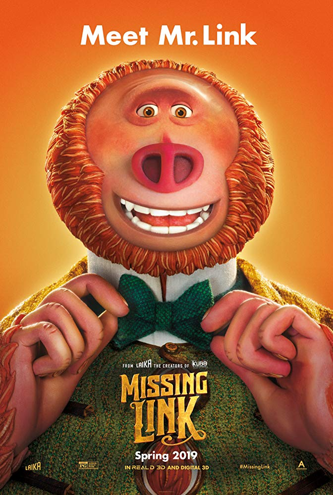 "Movie Review: ""Missing Link"" (2019)"